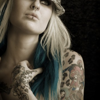 boudoir and tattoes