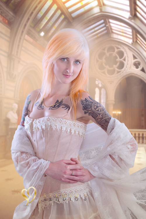 Victorian themed portrait