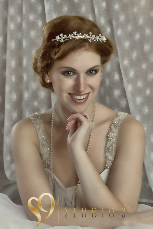 1920 themed glamour portrait.