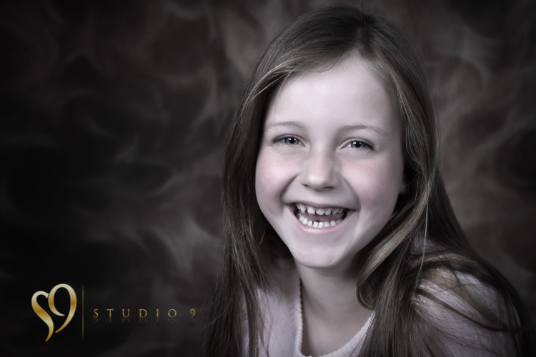 Happy portrait photography with kids in Wellington.