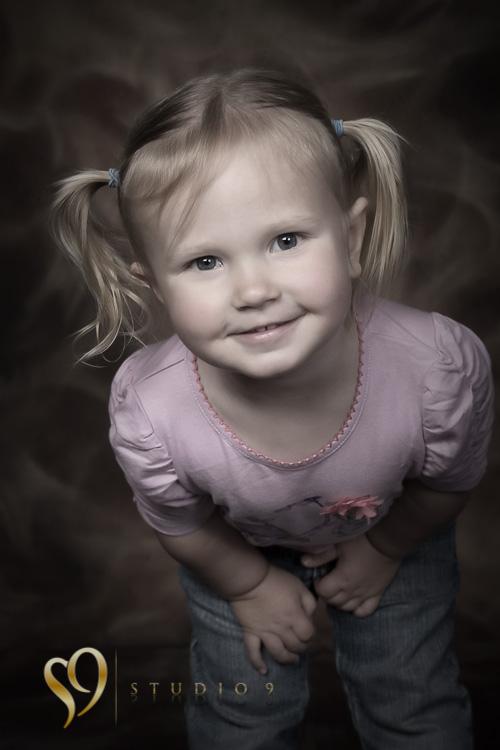 Cute girl. Photography by studio9, Wellington.