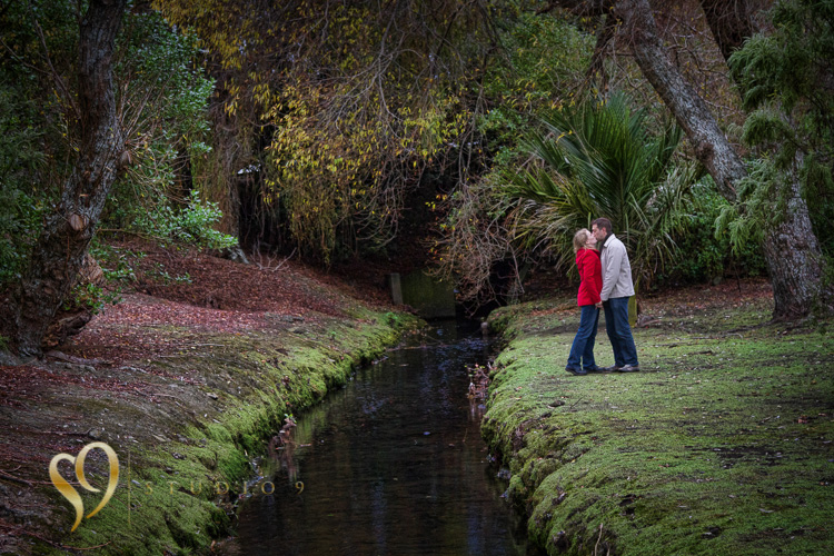 Location engagement photography in Wellington.