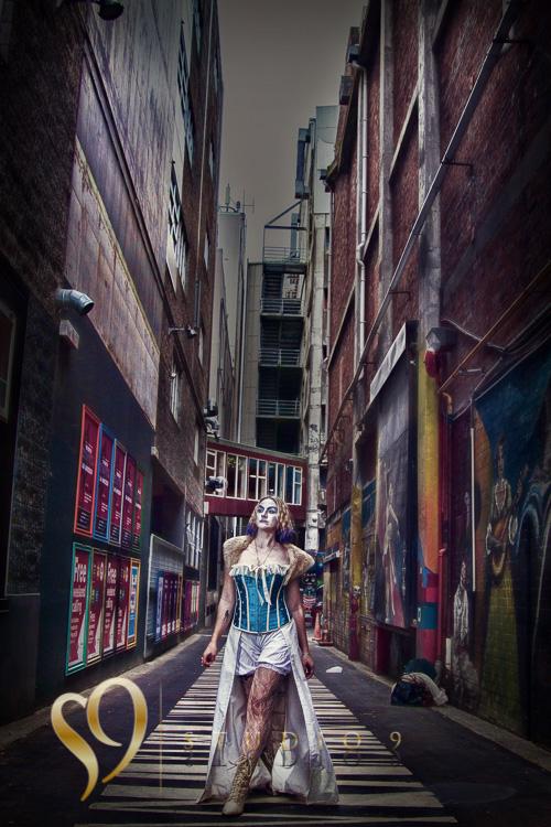 Wellington alley walk portrait